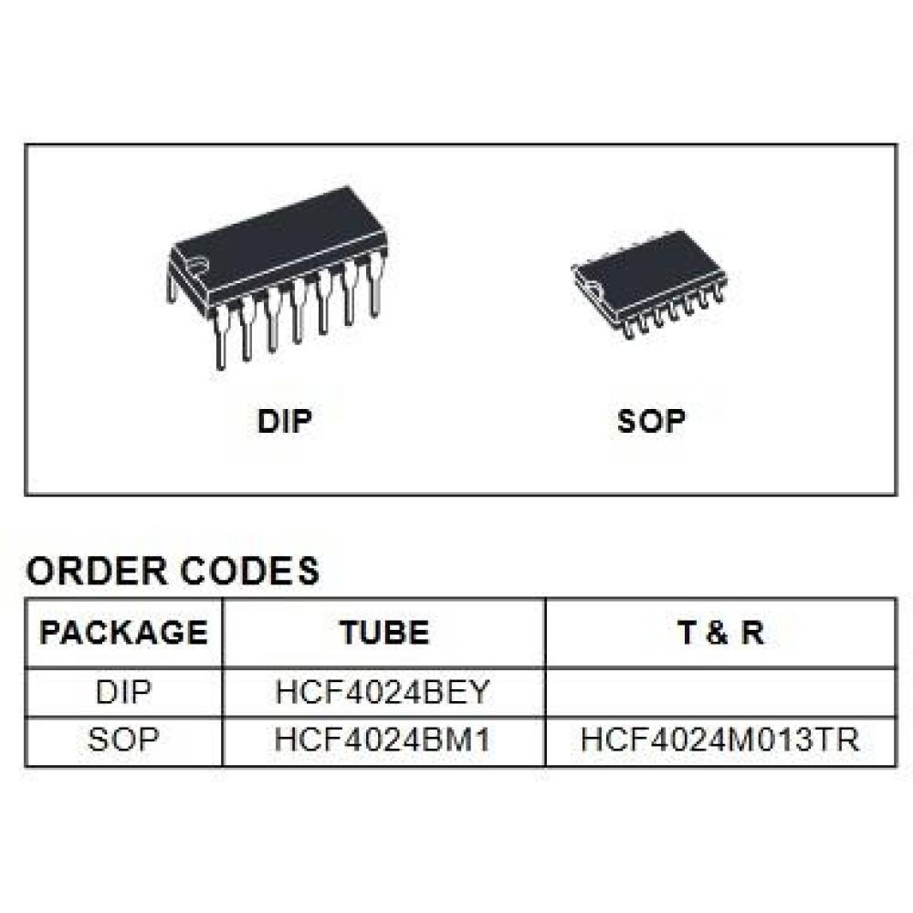 آی سی HCF4024BE