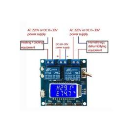 ماژول کنترلر دما و رطوبت دیجیتال مدل XY-TR01